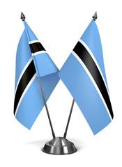 Botswana - Miniature Flags.