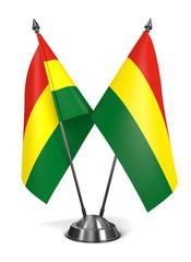 Bolivia - Miniature Flags.