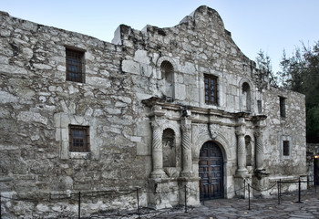 Alamo in San Antonio,Texas.
