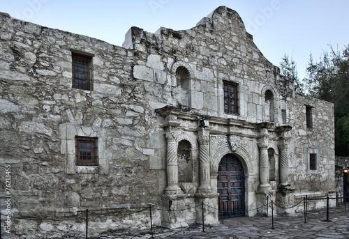 Staande foto Vestingwerk Alamo in San Antonio,Texas.