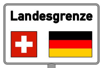 osg1 OrtsSchildGrafik osg - Schweiz Deutschland - g3008