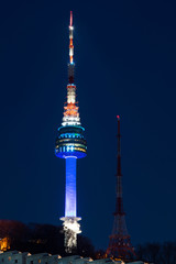Seoul tower,Namsan tower in korea
