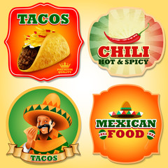 mexican stickers food