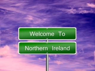 Northern Ireland Travel Sign