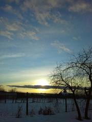 Потрясающий закат в январе!!!