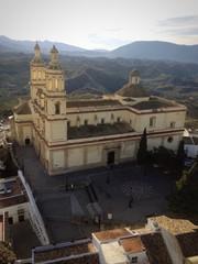 Iglesia de Olvera en Cádiz