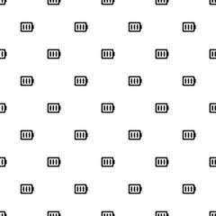 Vector seamless pattern, battery