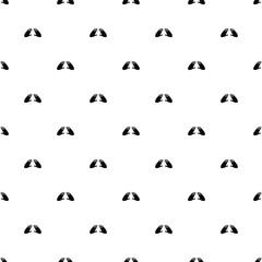 Vector seamless pattern, hand