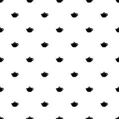 Vector seamless pattern, teapot