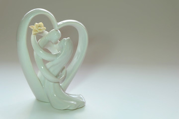 just married statuette