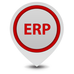 ERP pointer icon on white background
