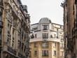 Paris, France. Architectural details of town houses