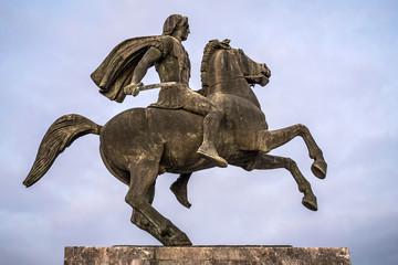 Alexander the Great statue, Thessaloniki, Greece