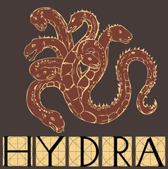 Hydra with title