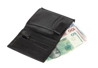 Wallet with Norwegian money