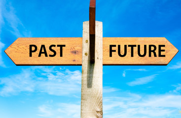Past versus Future messages, Mindset conceptual image
