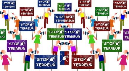 "Manifs ""Stop terreur"""