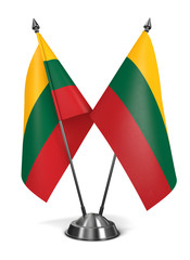 Lithuania - Miniature Flags.