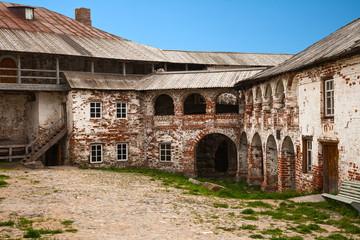 Courtyard Solovetsky monastery