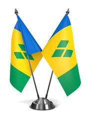 Saint Vincent and Grenadines - Miniature Flags.