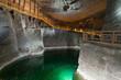 Leinwandbild Motiv Wieliczka Salt Mine is one of the world's oldest salt mines.