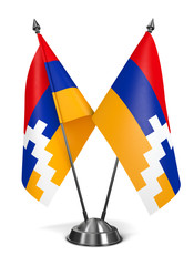 Nagorno Karabakh - Miniature Flags.