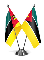 Mozambique - Miniature Flags.