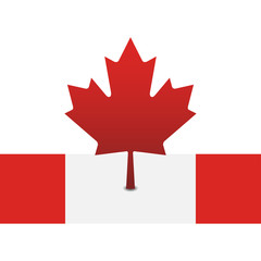Canada flag (red-white)