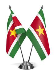 Suriname - Miniature Flags.
