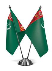 Turkmenistan - Miniature Flags.