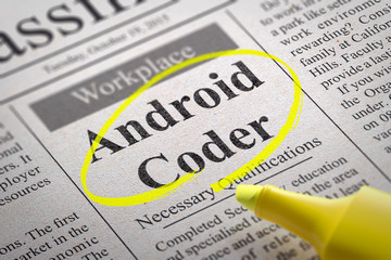 Android Coder Jobs in Newspaper.