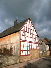 Renoviertes Fachwerkhaus in Salzböden bei Lollar und Gießen