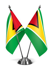Guyana - Miniature Flags.