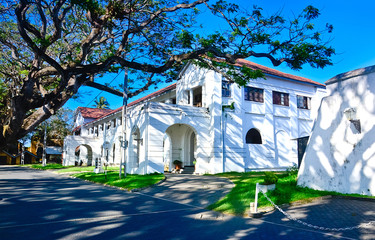 Old Dutch Buildings At Galle Fort In Galle, Sri Lanka
