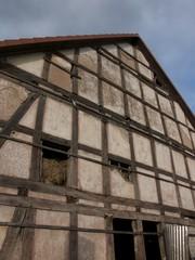 Scheune mit Stall in Fachwerkbauweise in Schönstadt bei Wölbe