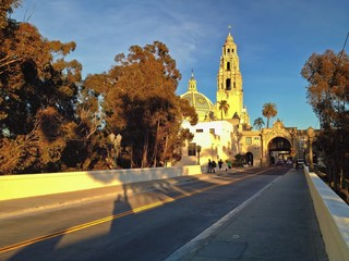 Cabrillo Bridge and California Tower, Balboa Park, San Diego, CA