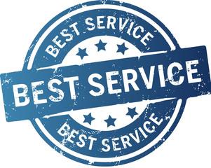 Button Stempel Best Service