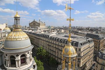 Blick auf Oper und Boulevard Hausmann Paris