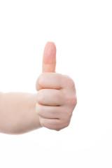 handgeste - daumen hoch