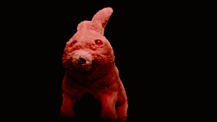 Toy from hell rabbit catching you