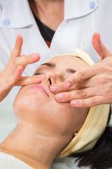 Beauty treatments in the beauty salon