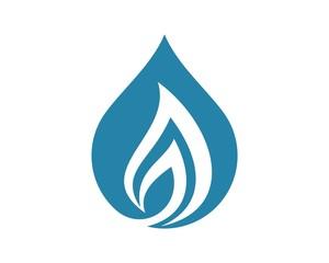 drop water flame