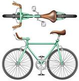 A green bike - 76234401