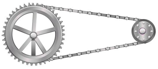 A cogwheel