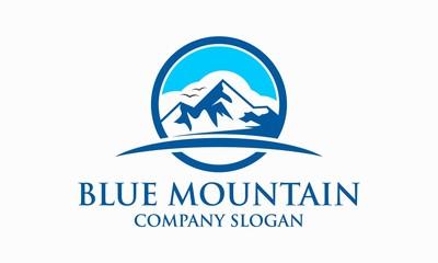 Blue Mountain Logo Template