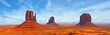 Leinwanddruck Bild - Nature in Monument Valley Navajo Park, Utah USA