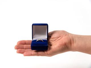 Hand mit Ring