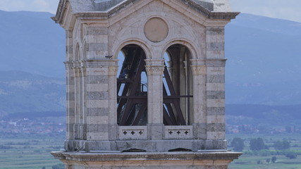 Church tower in Sinj