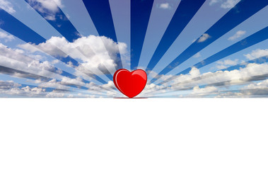 love at the horizon