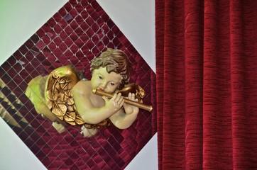 Barockengel Flöte